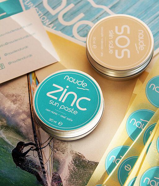 zinc sun paste
