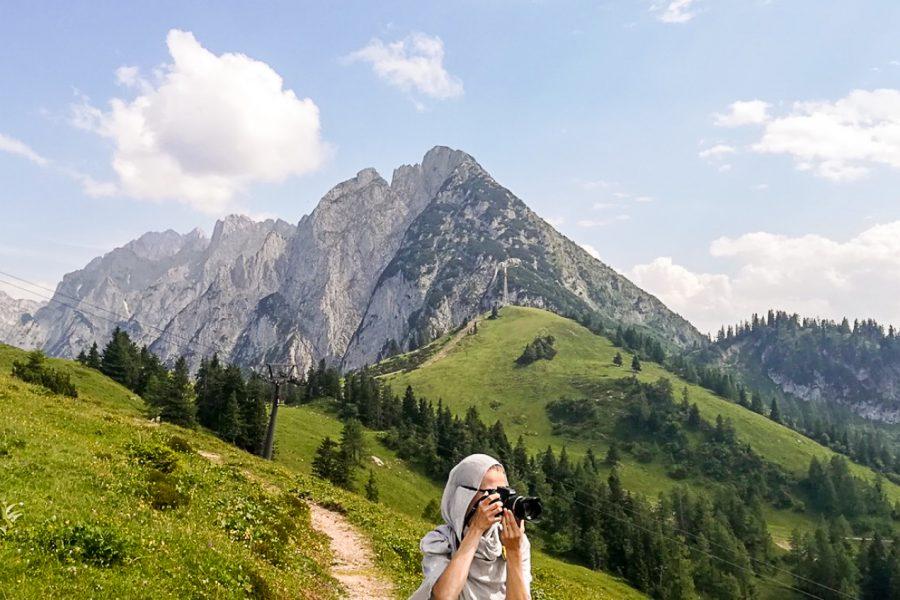 Dachstein mountains austria